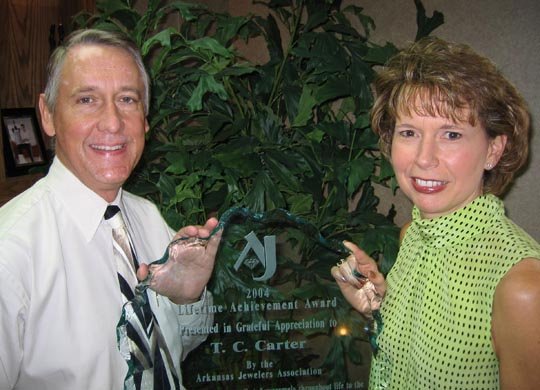 TC Carter Pic with Award, Small Size.jpg