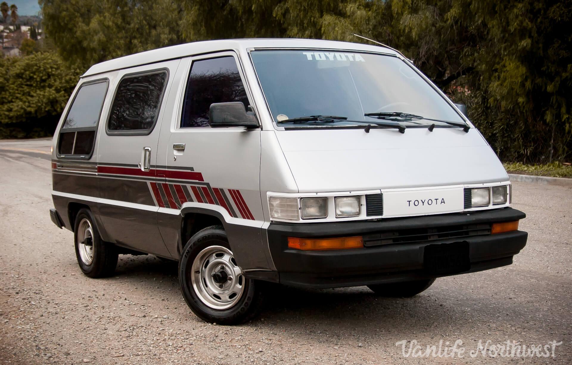1989 Toyota Van // 2wd Automatic — Vanlife NorthwestVanlife Northwest