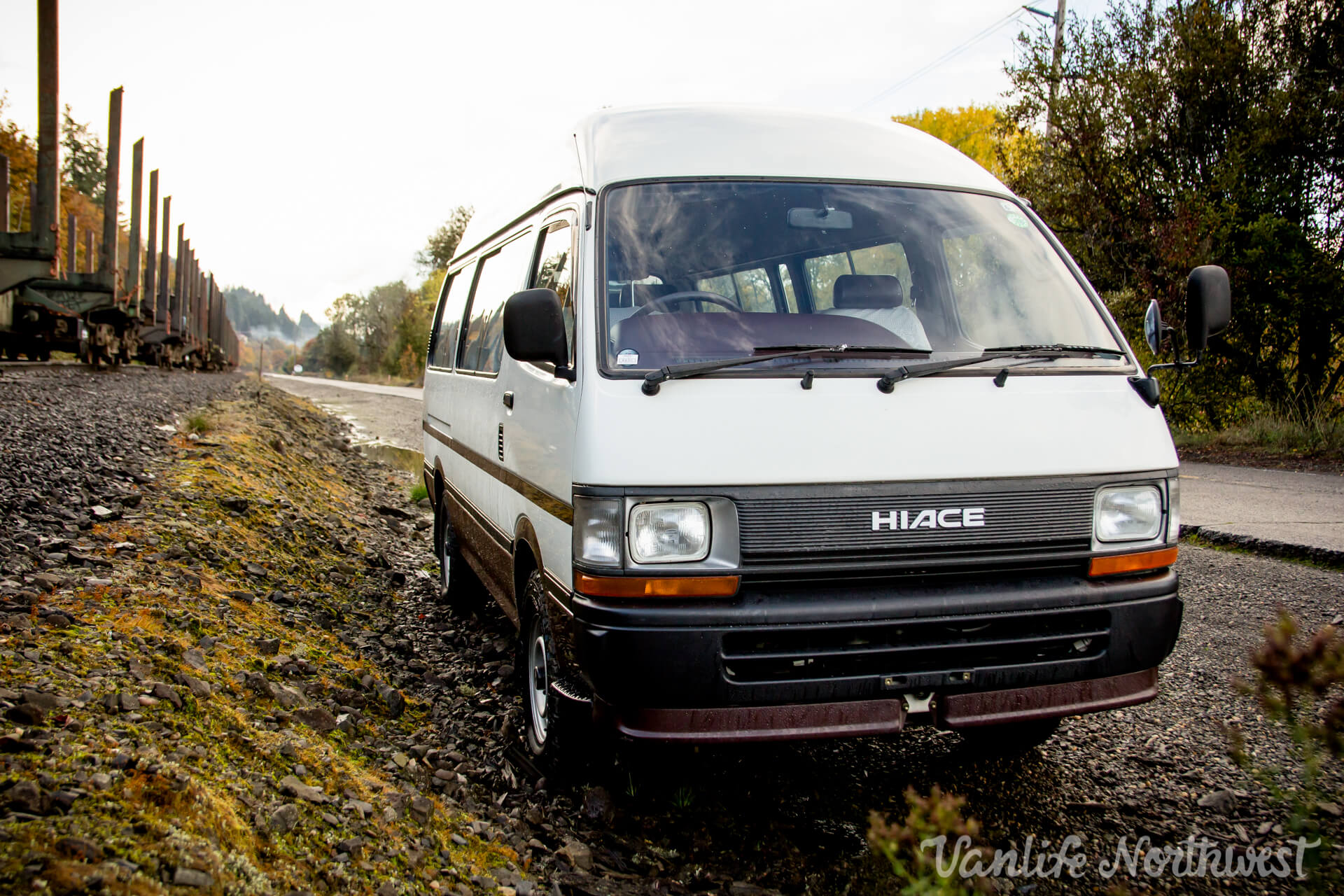 1993 TOYOTA HiAce Commuter High Roof Van — Vanlife Northwest
