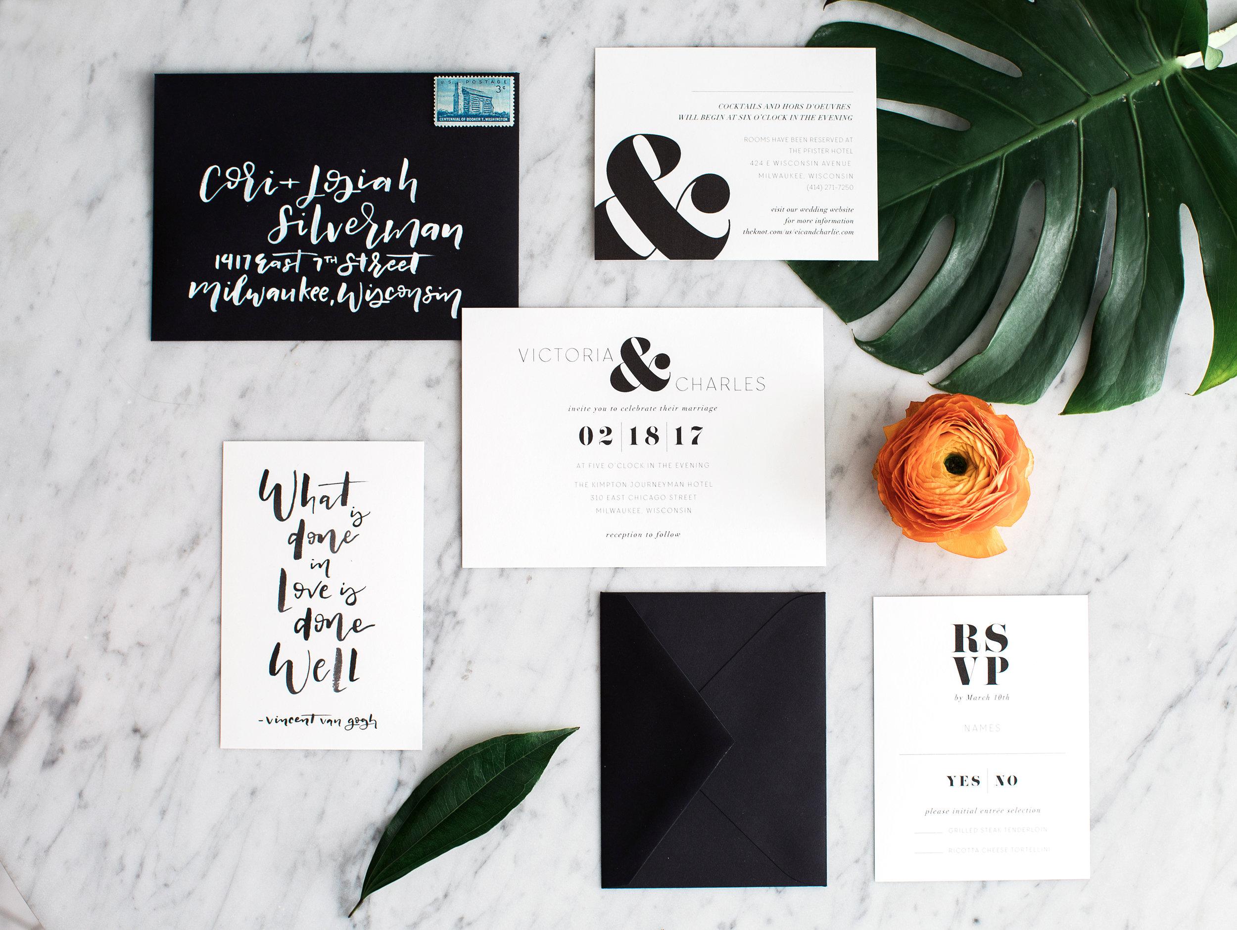 black-and-white-wedding-invitation