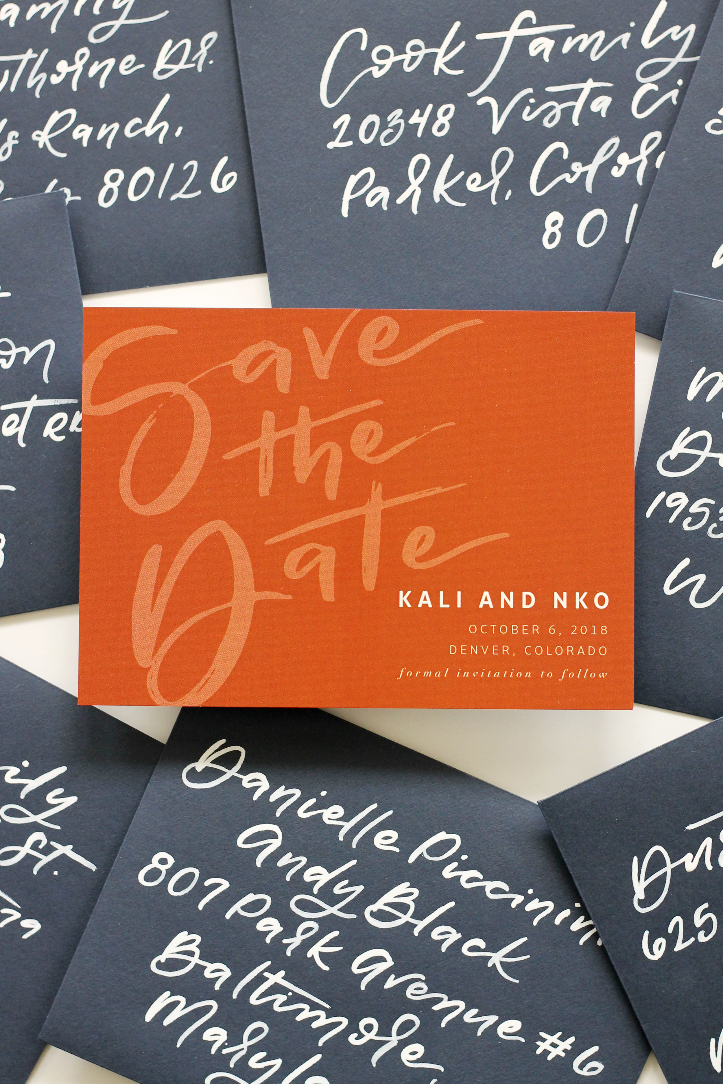 Fall Wedding Save the Date