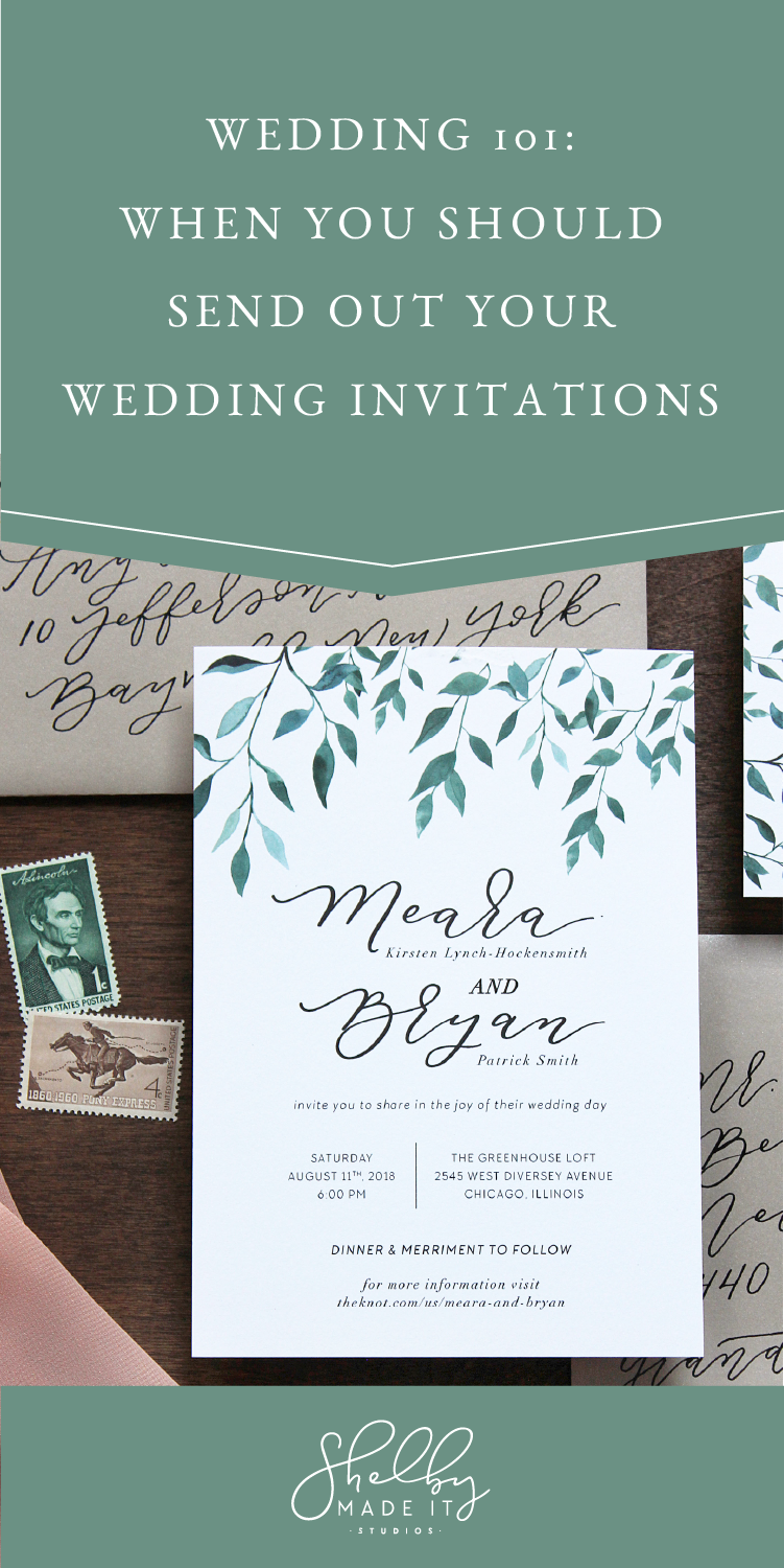 weddings 101_when you should send out your wedding invitations
