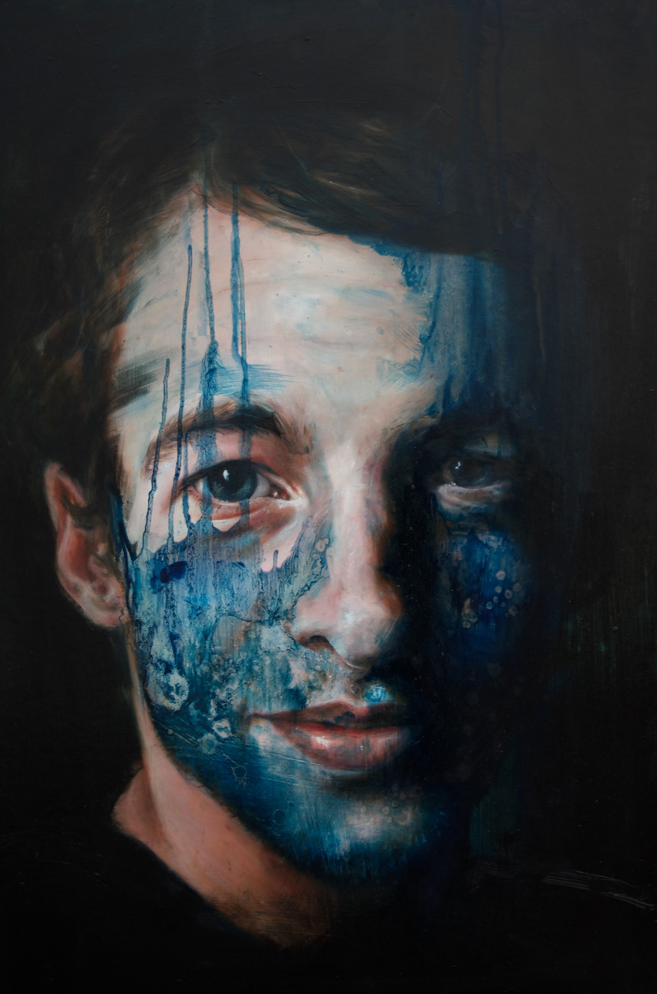Unnamed. 62x92cm, Oil on Board
