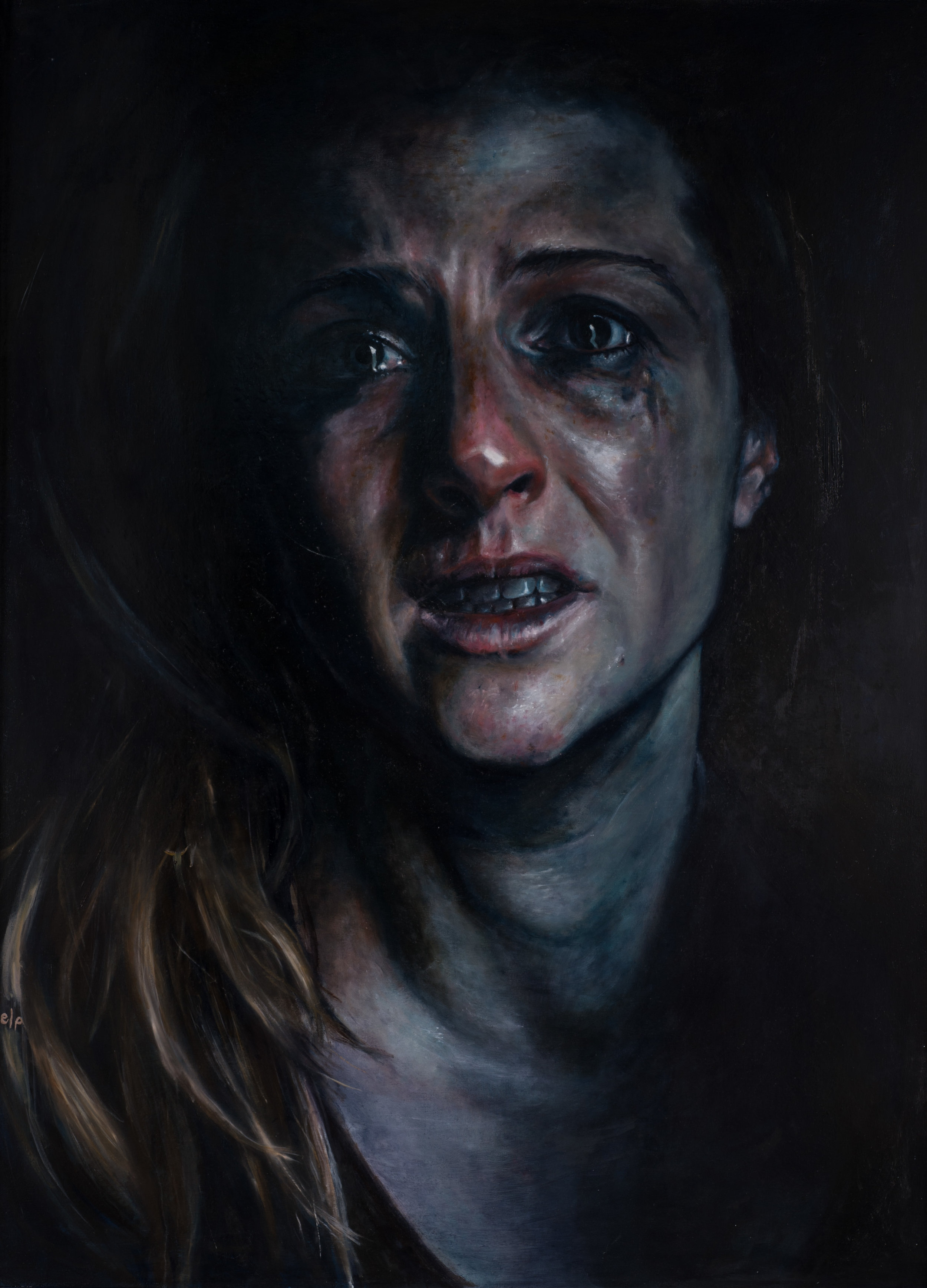 Gone, 122x166, Oil on Canvas