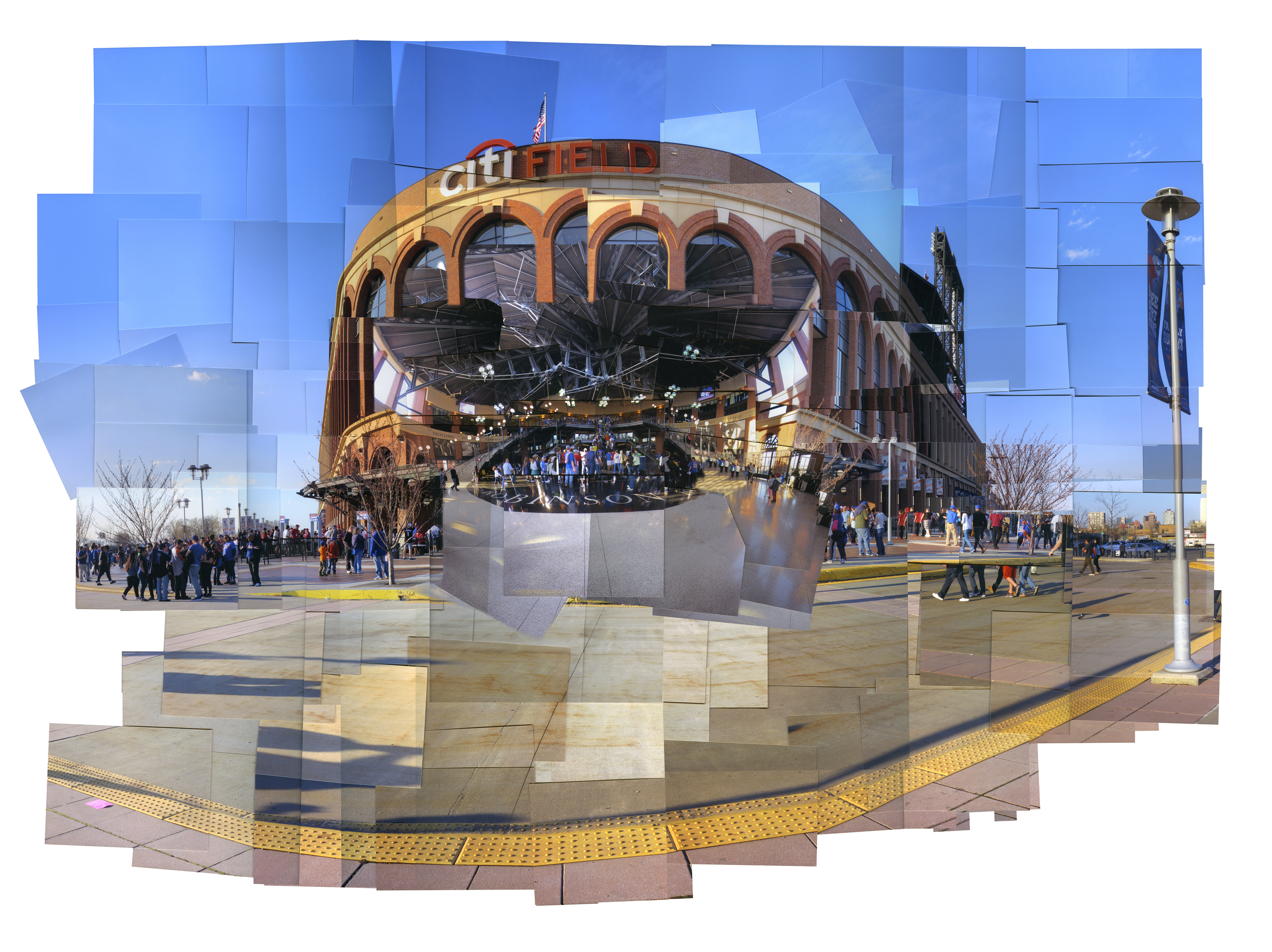 Gemma Lopez, 30 Baseball Stadiums: Citi Field ink jet print, 40 x 30in.