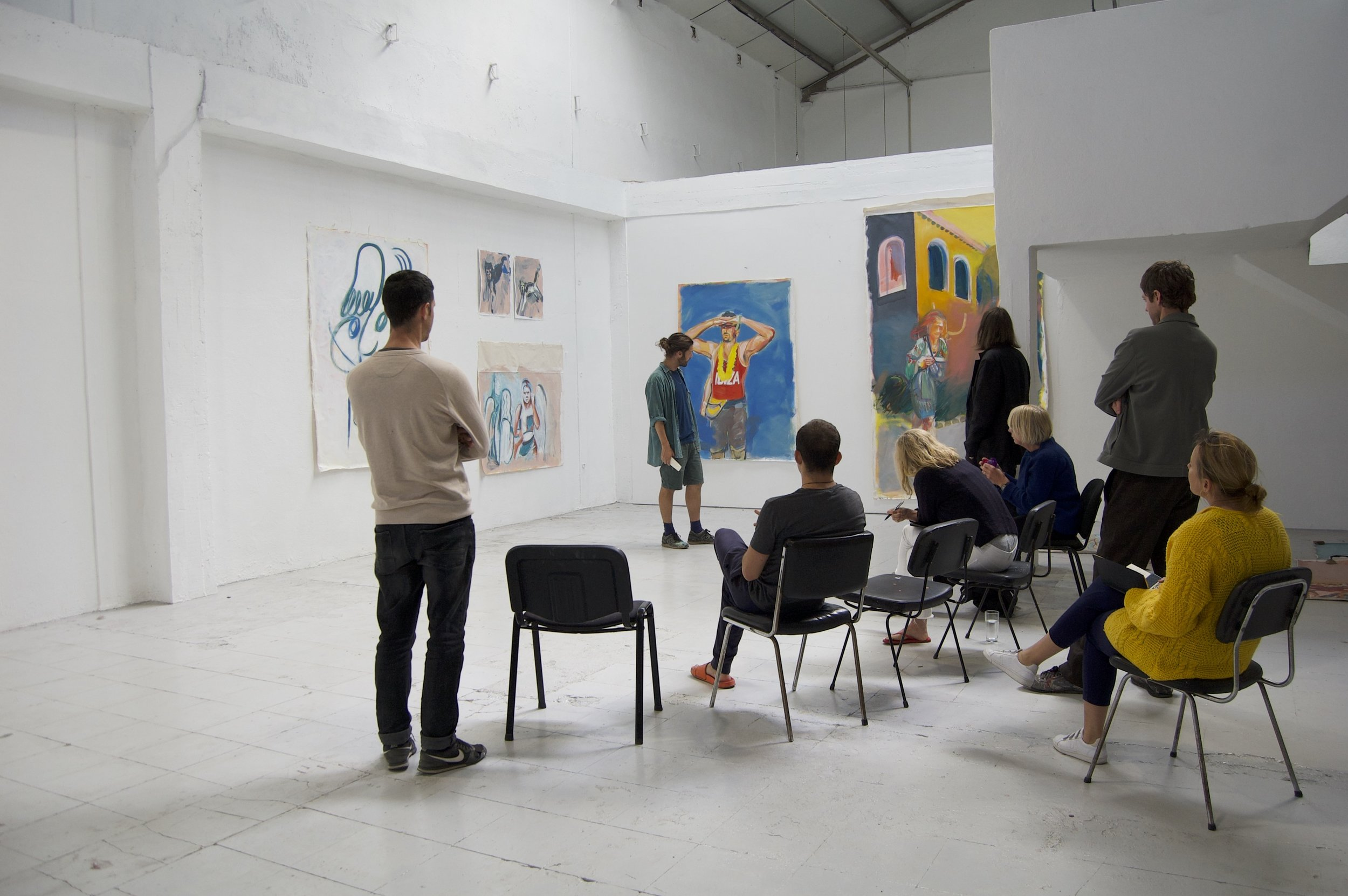 Critique at PADA in Lisbon, Portugal