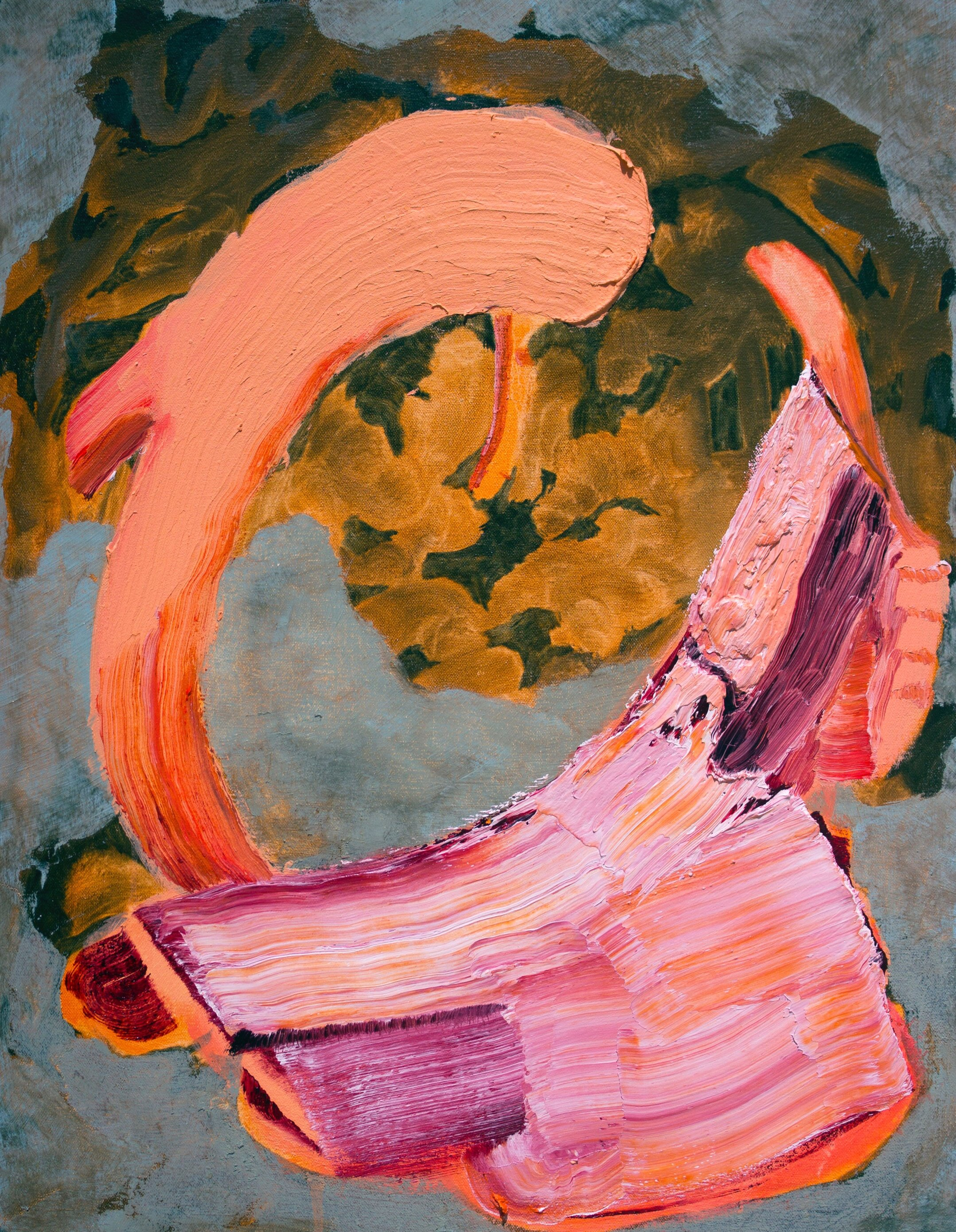 Michael Nauert Idea as Angel, 2019 Oil on canvas 18.25 x 24.25