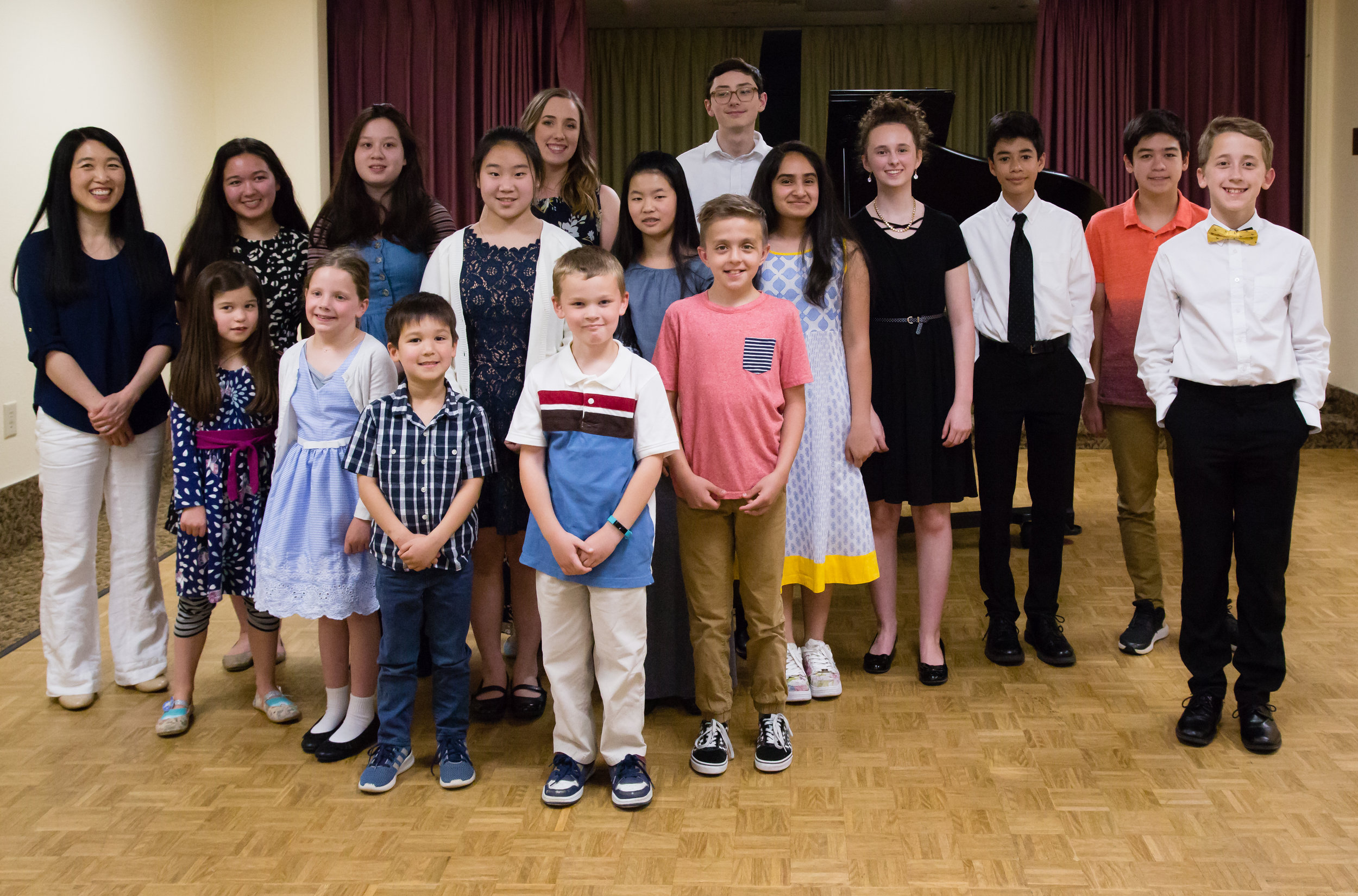 Recital 2019 photo - what an amazing group of students!