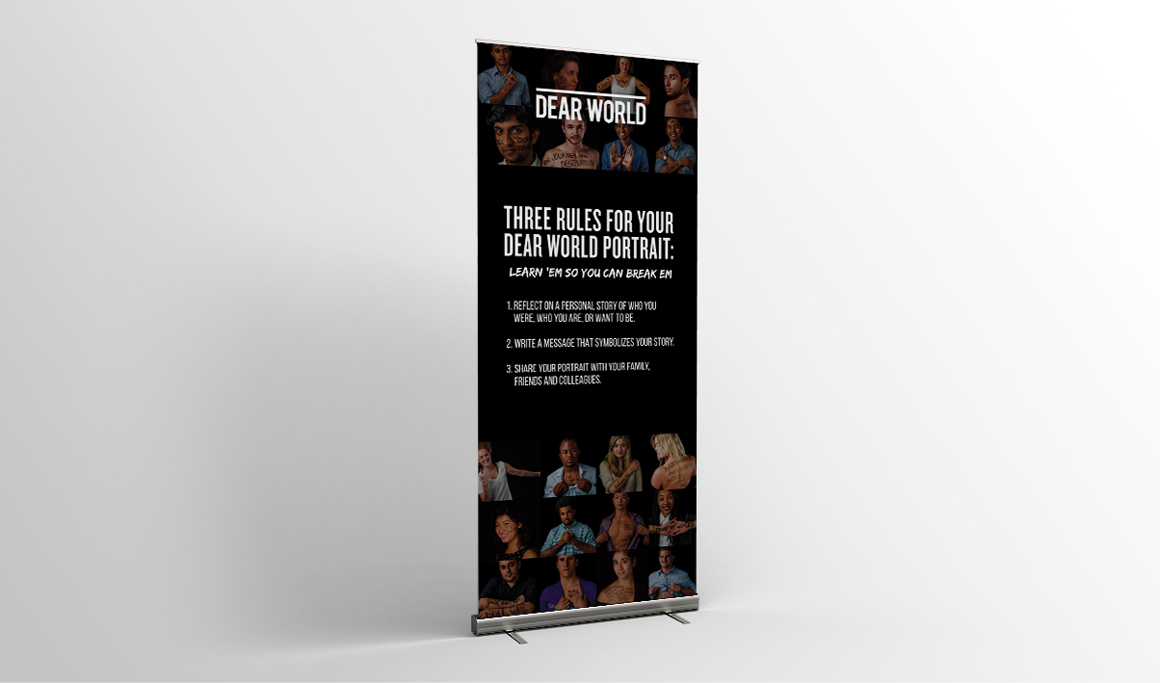 scout-new-orleans-dear-world-pop-up-banner
