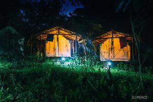 Platform Tents w/ Shared Bath   Single occupancy (full):  $1,945pp
