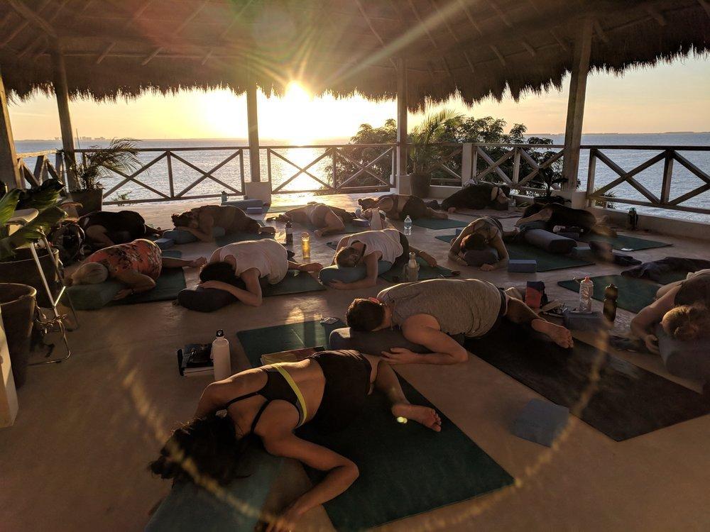 200 hour yoga teacher training school
