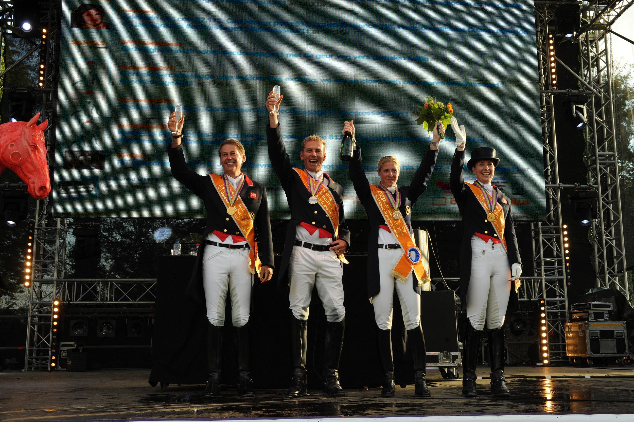 Carl and teammates European Championships 2011.JPG