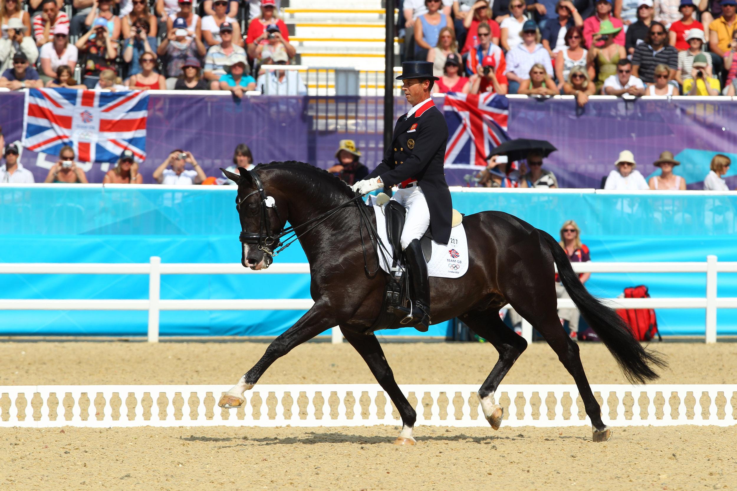 Carl Hester-Uthopia - Kur Dressage, London Olympics 2012.jpg