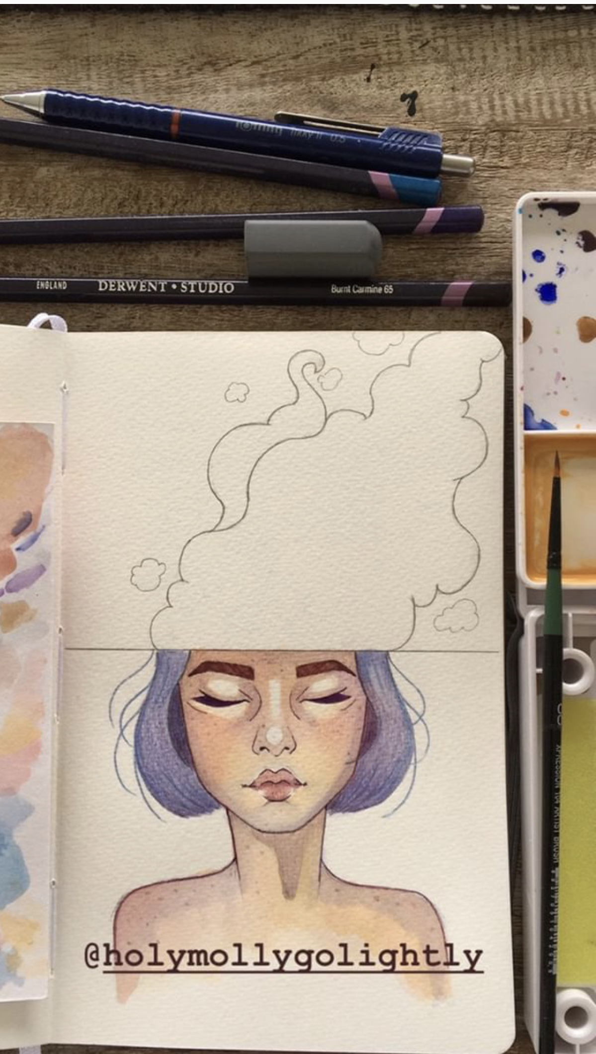'Head's In The Cloud'