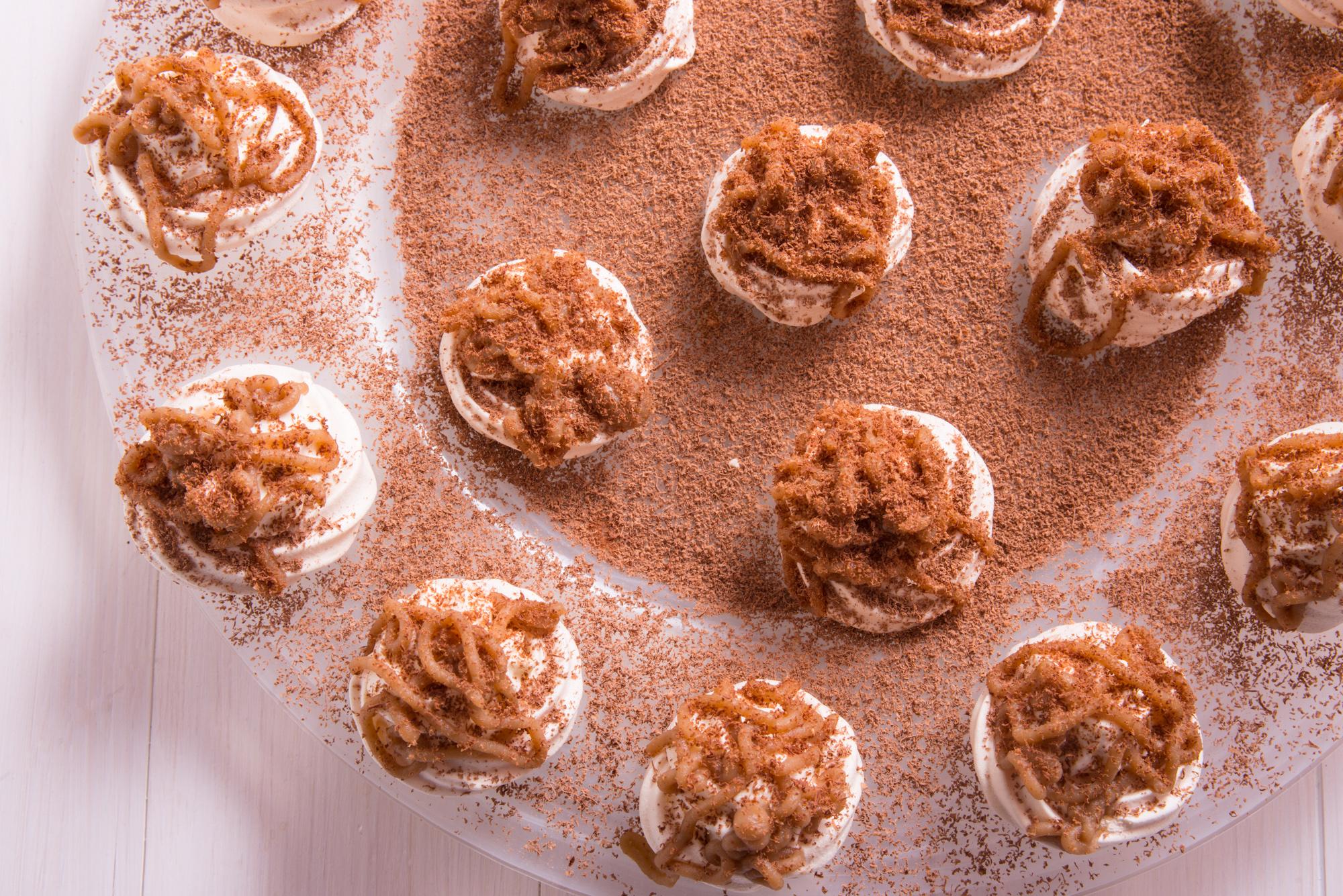 FODMAP friendly gluten free mini mont blanc dessert recipe