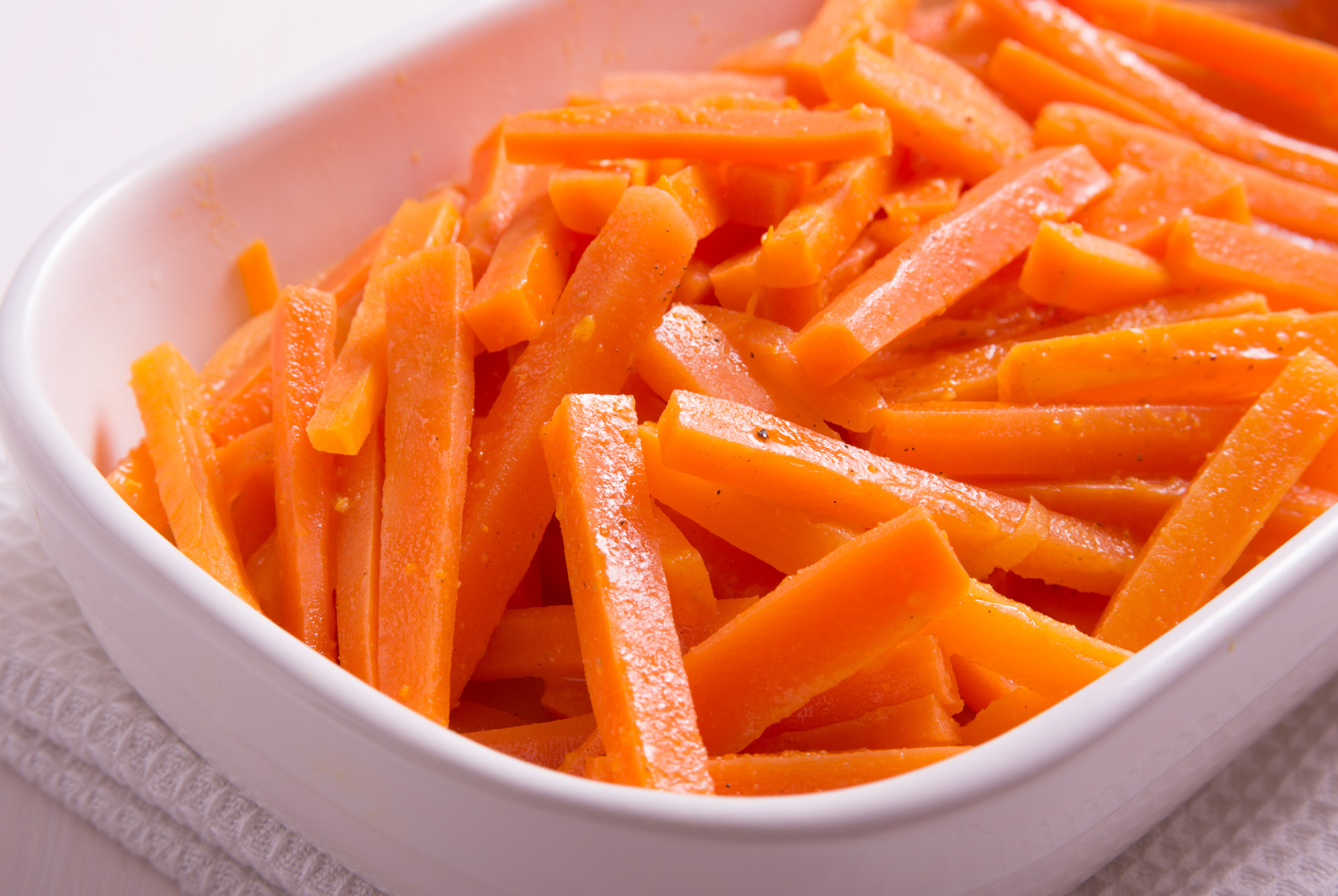 Low FODMAP Christmas Clementine Carrots recipe
