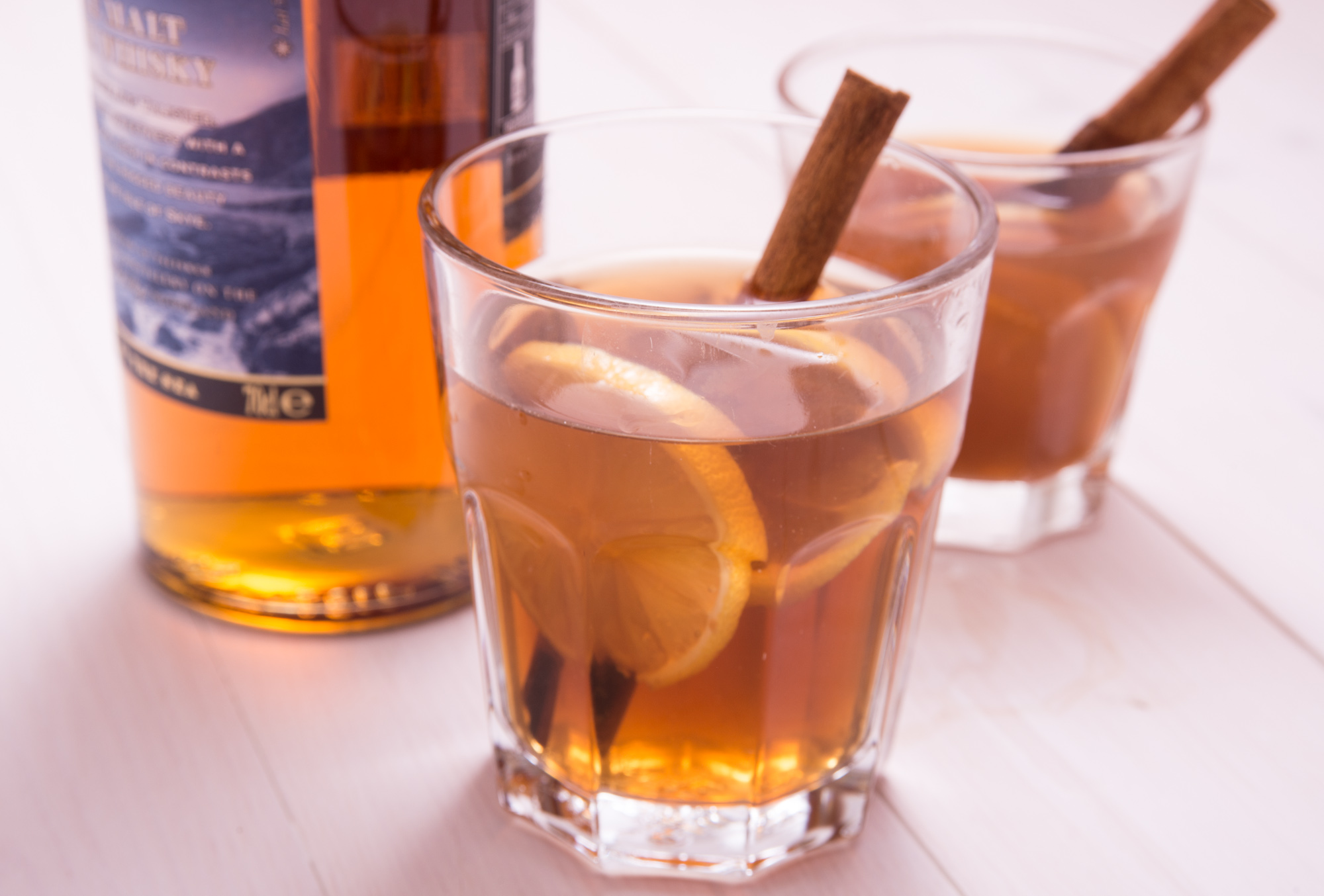 Hot Toddy recipe low FODMAP