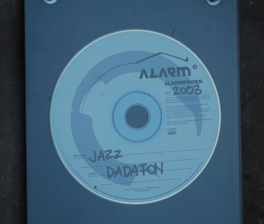 The Alarm Award 2003 (Best Jazz Record)