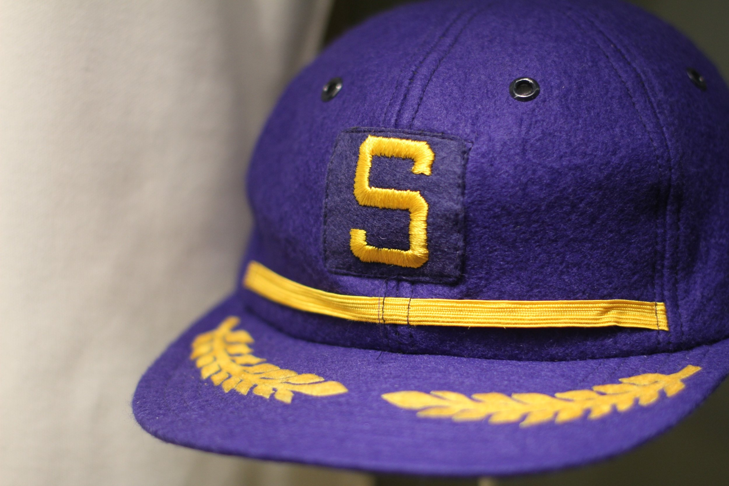1969 Seattle Pilots hat. One year of Major League Baseball in Seattle before the franchise was moved to Milwaukee to become the Brewers.
