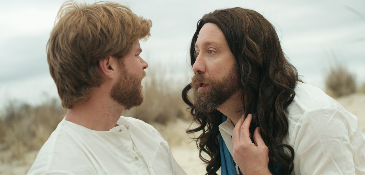 The Moly Spirit (Short - Comedy)   Jesus discloses a dark secret to his disciple Peter.