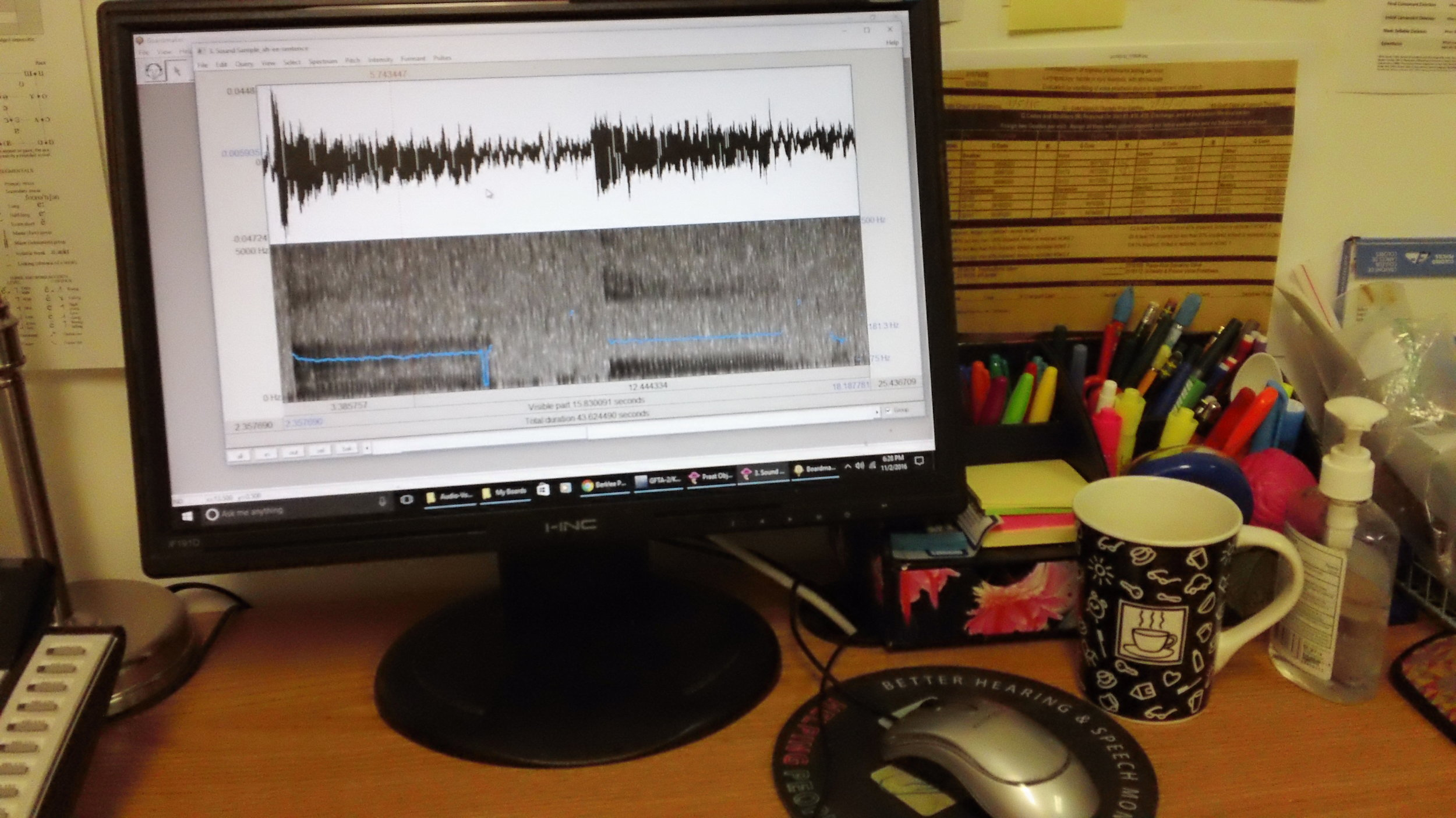 Analysis of the sound of the voice and speech provides critical data for documenting progress.