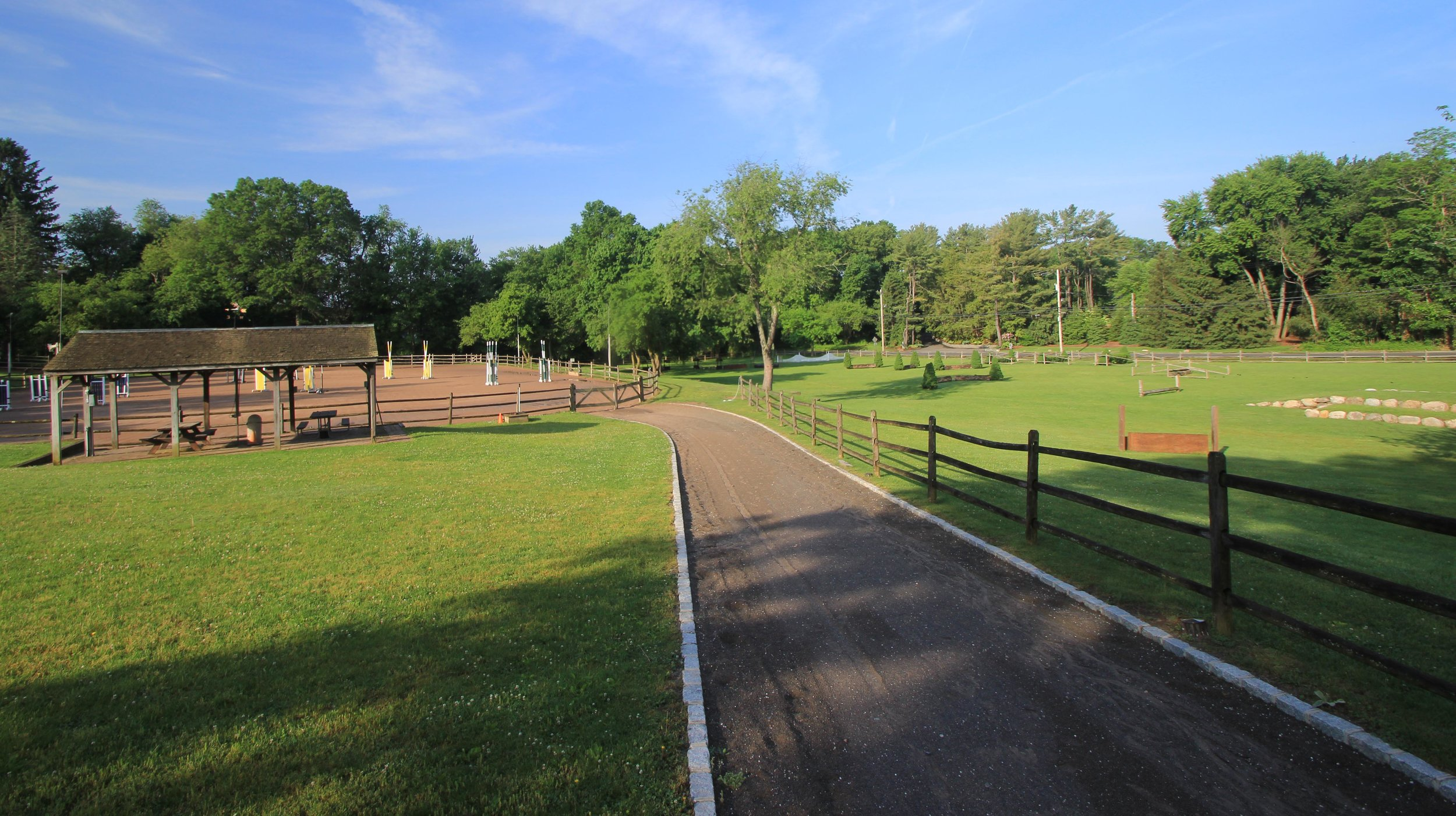 Rockleigh Equestrian Centre Ring and Field
