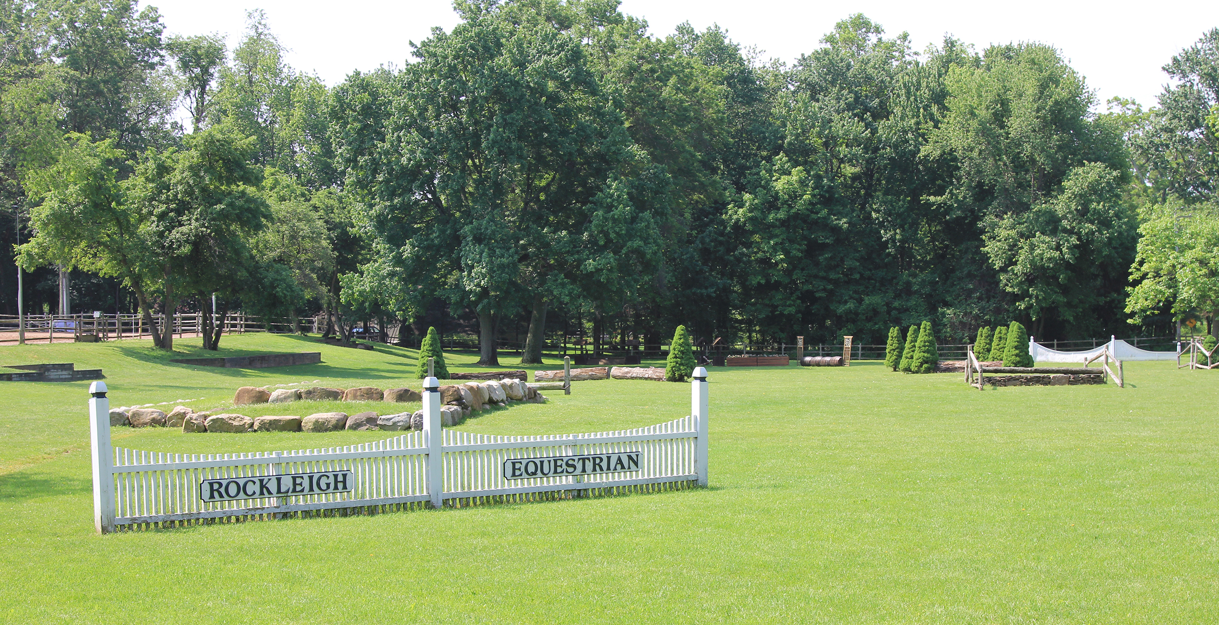 Rockleigh Equestrian Centre Eventing Field