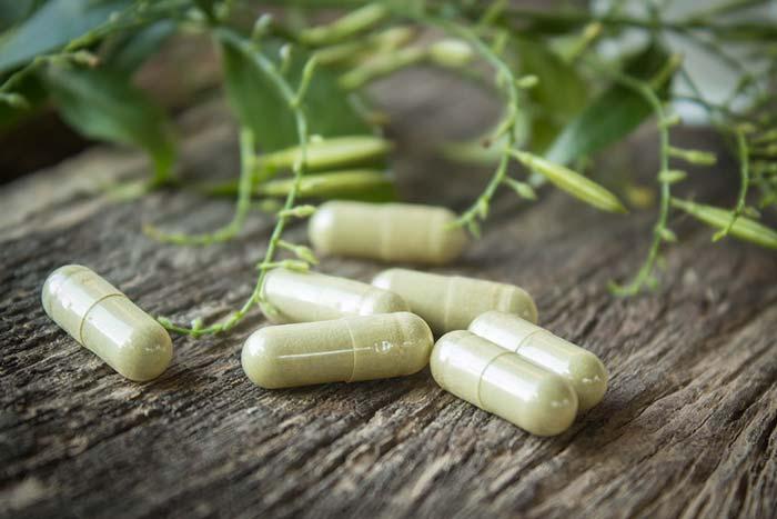 herbal medicine capsules