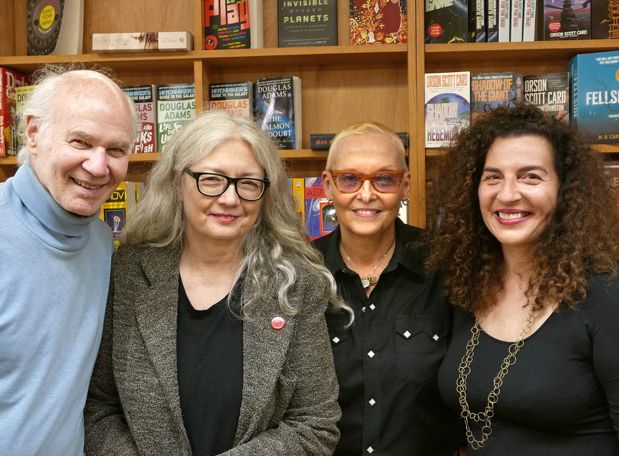 Richard Silberg, Joyce Jenkins, Jan Beatty & Kendra Tanacea