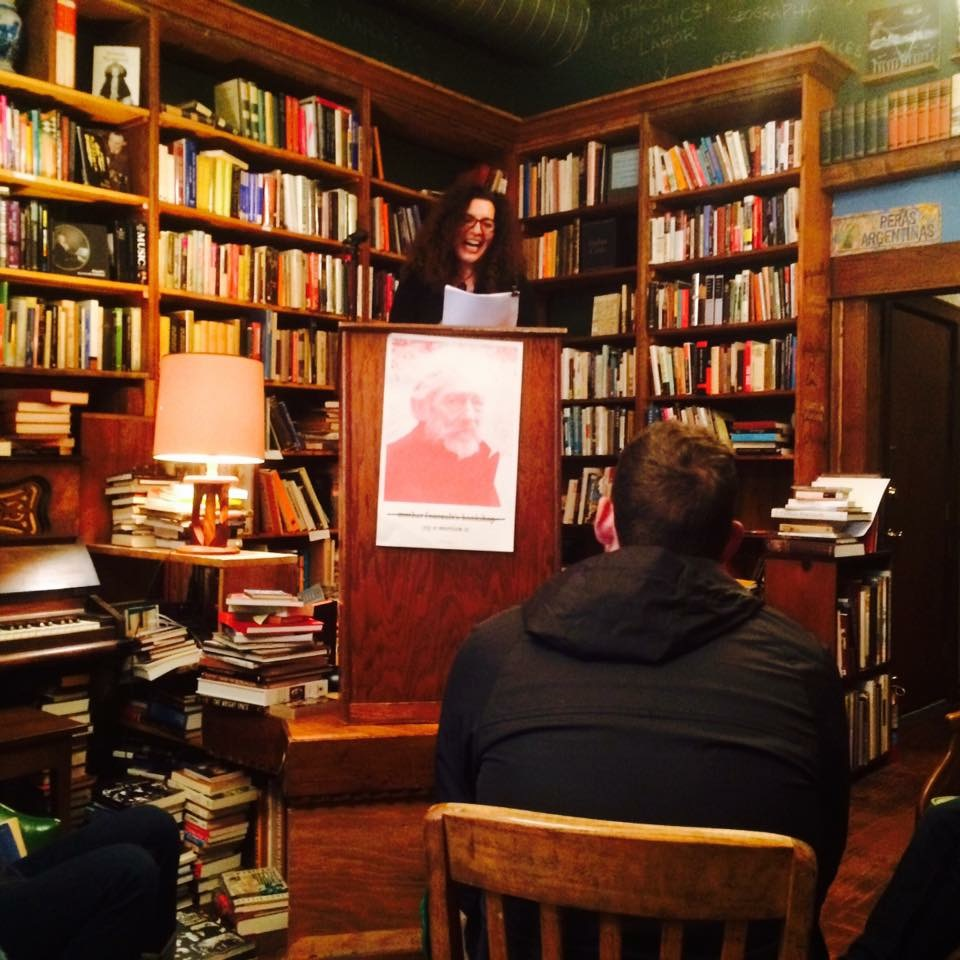 Kendra Tanacea reading from  A Filament Burns in Blue Degrees