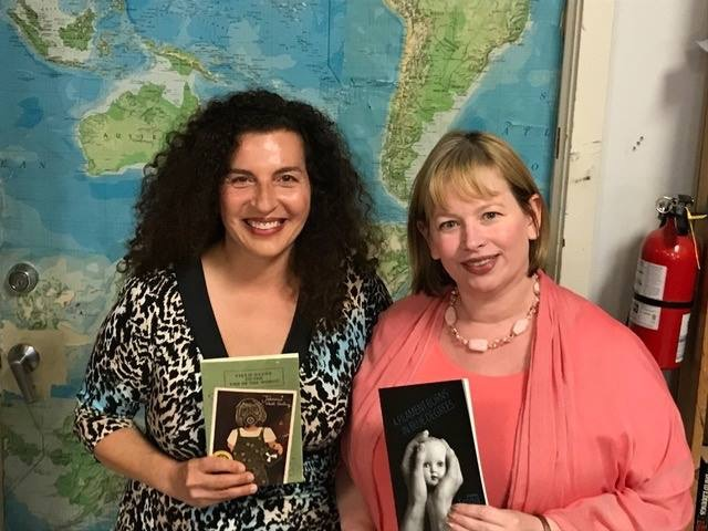 So delighted to read with Jeannine Hall Gailey!