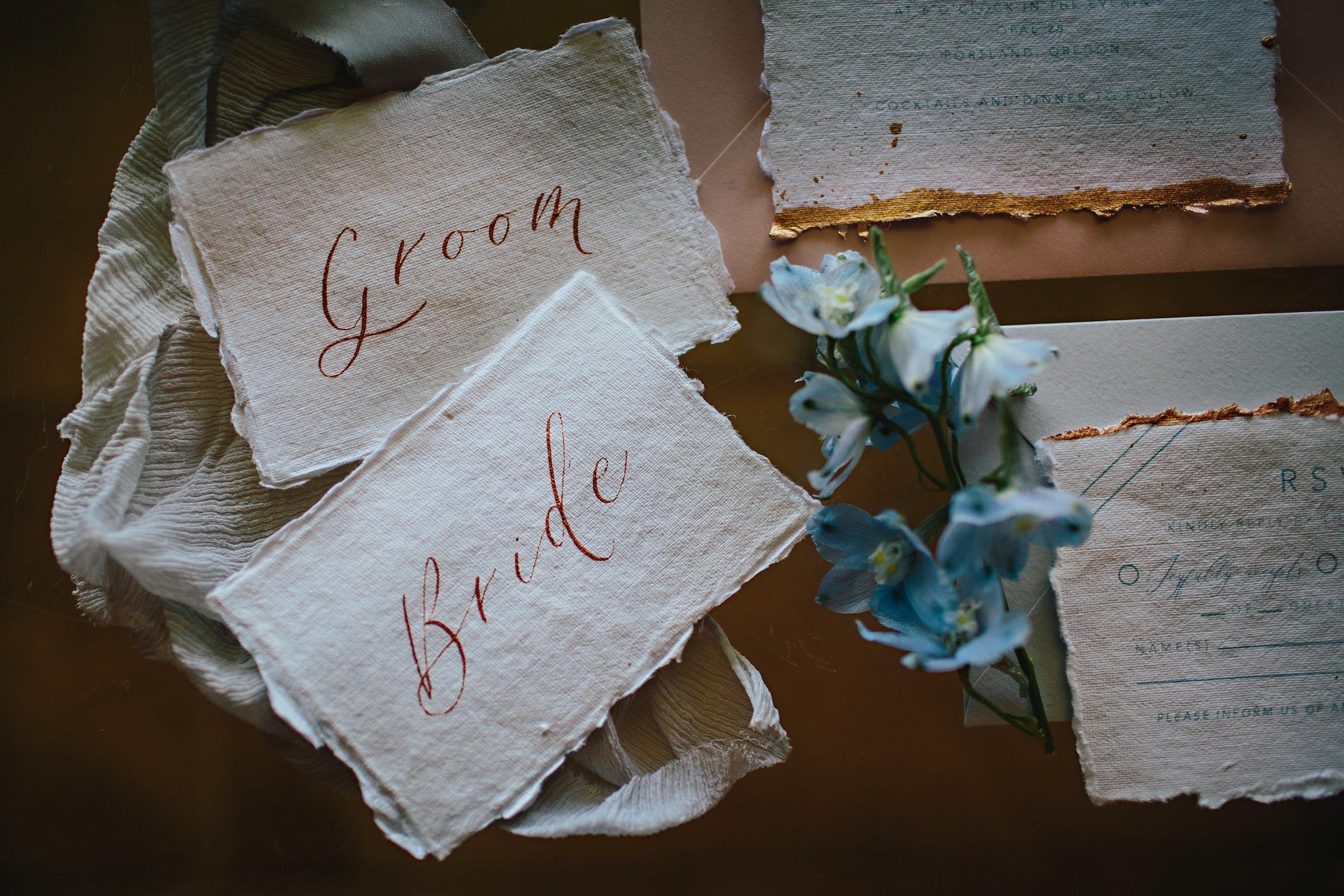 Copy of Summer Garden Wedding: Place Cards