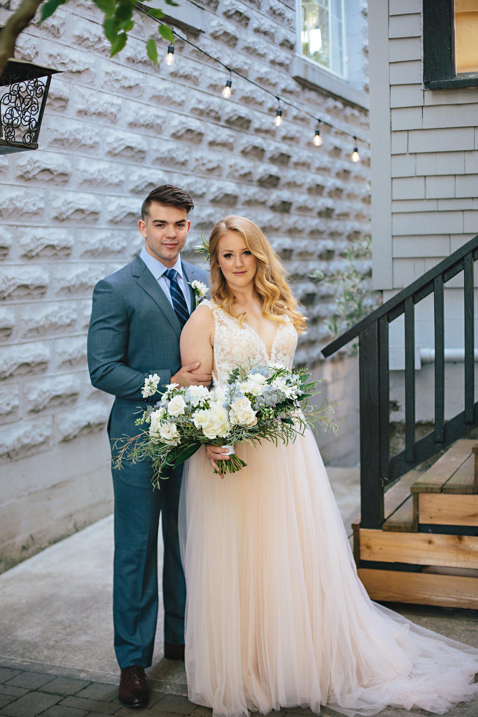 Copy of Summer Garden Wedding: Wedding Portrait