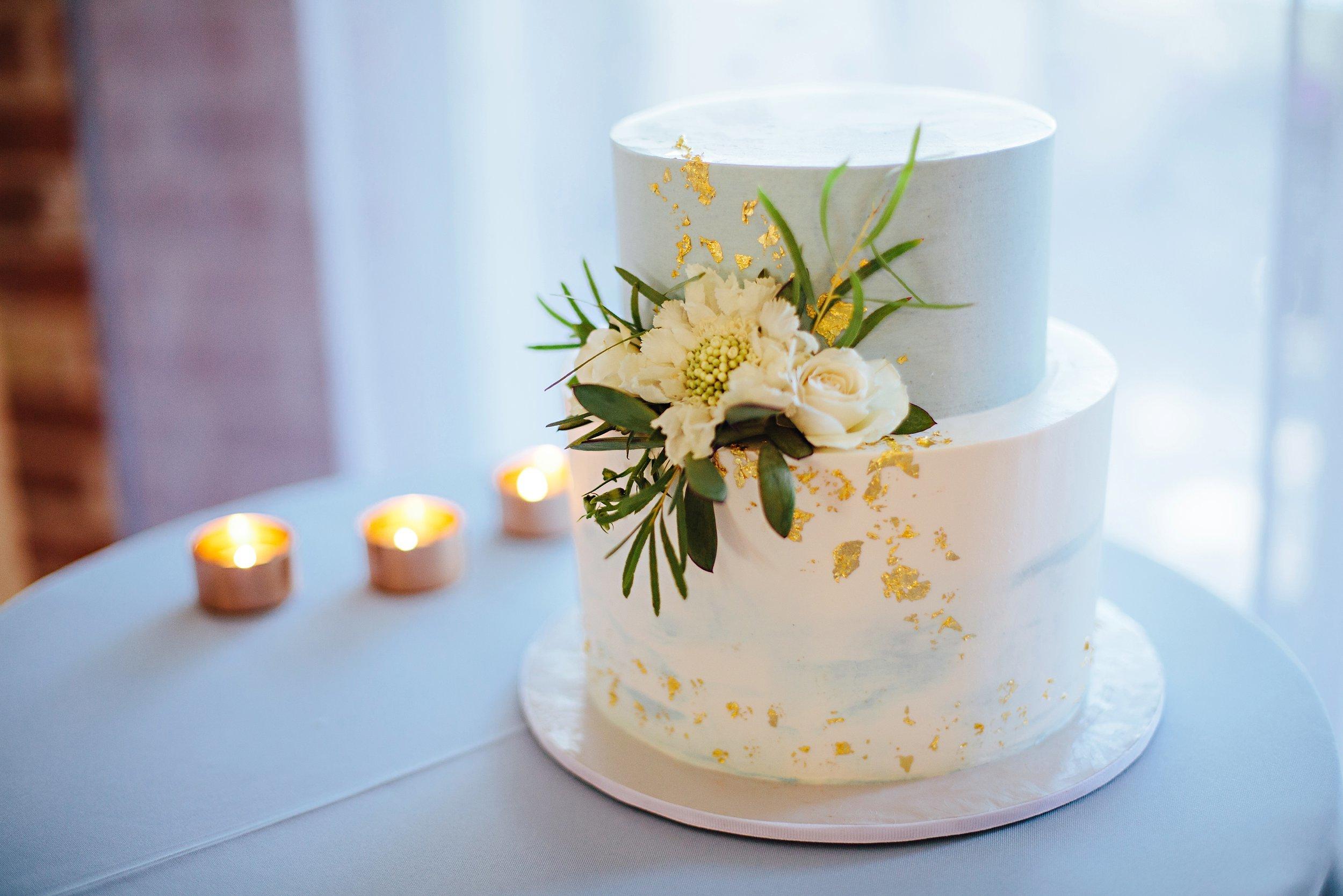 Copy of Summer Garden Wedding: Cake