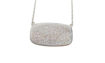 PINK DRUZY MAID OF HONOR NECKLACE