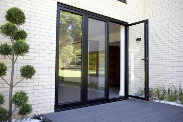 Available in fiberglass or steel with security encasement. Finish options also  include primed or painted wood grained sliding patio doors.
