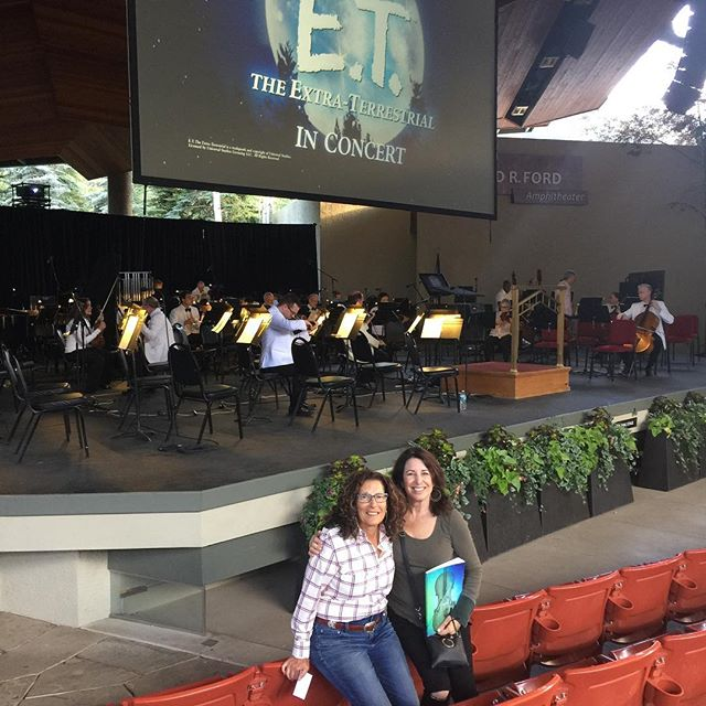 Fun things to do after a show. ET accompanied by the Philadelphia orchestra.