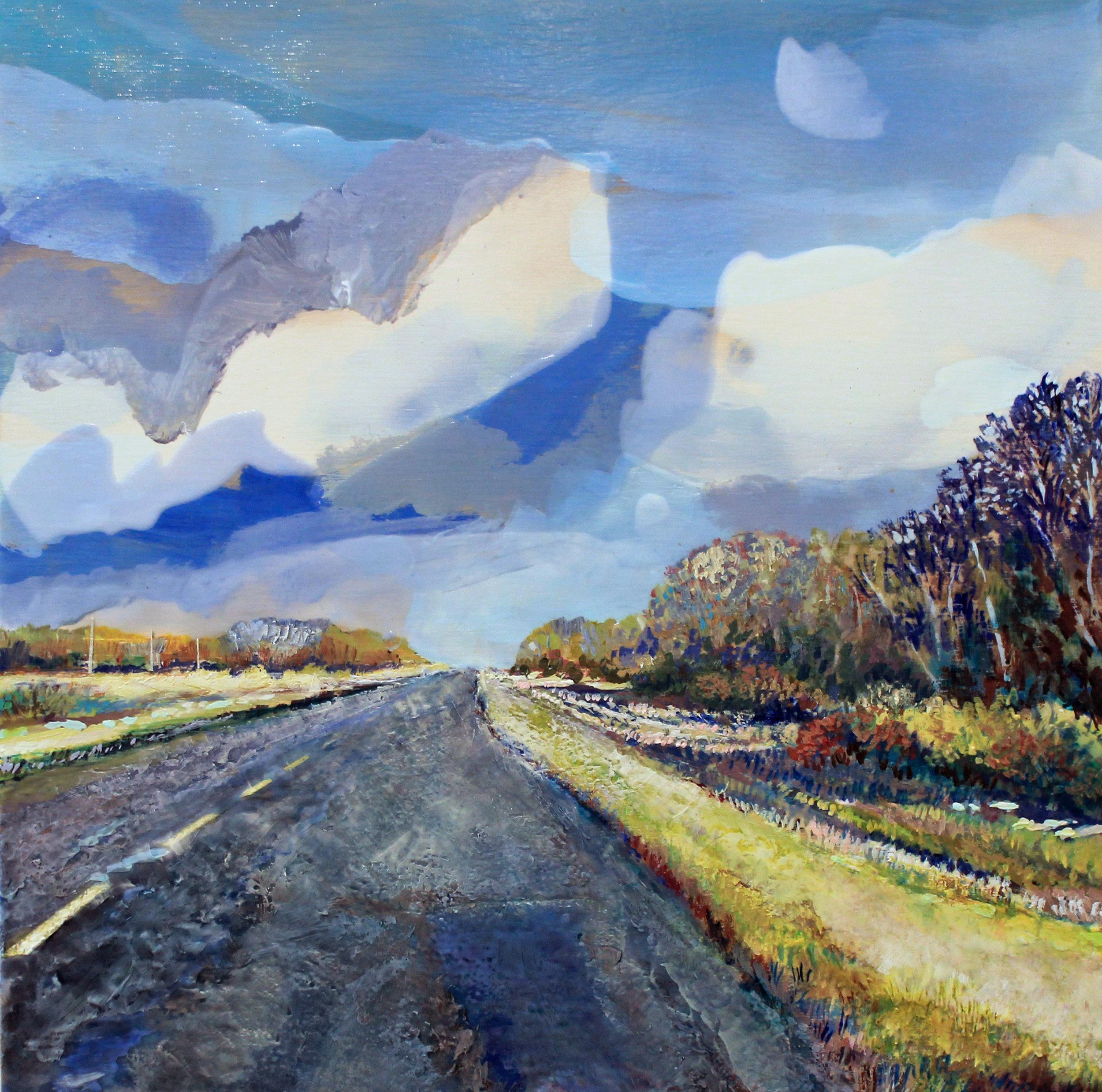 Heather Cline | Dashcam - Heading North — Slate Fine Art Gallery