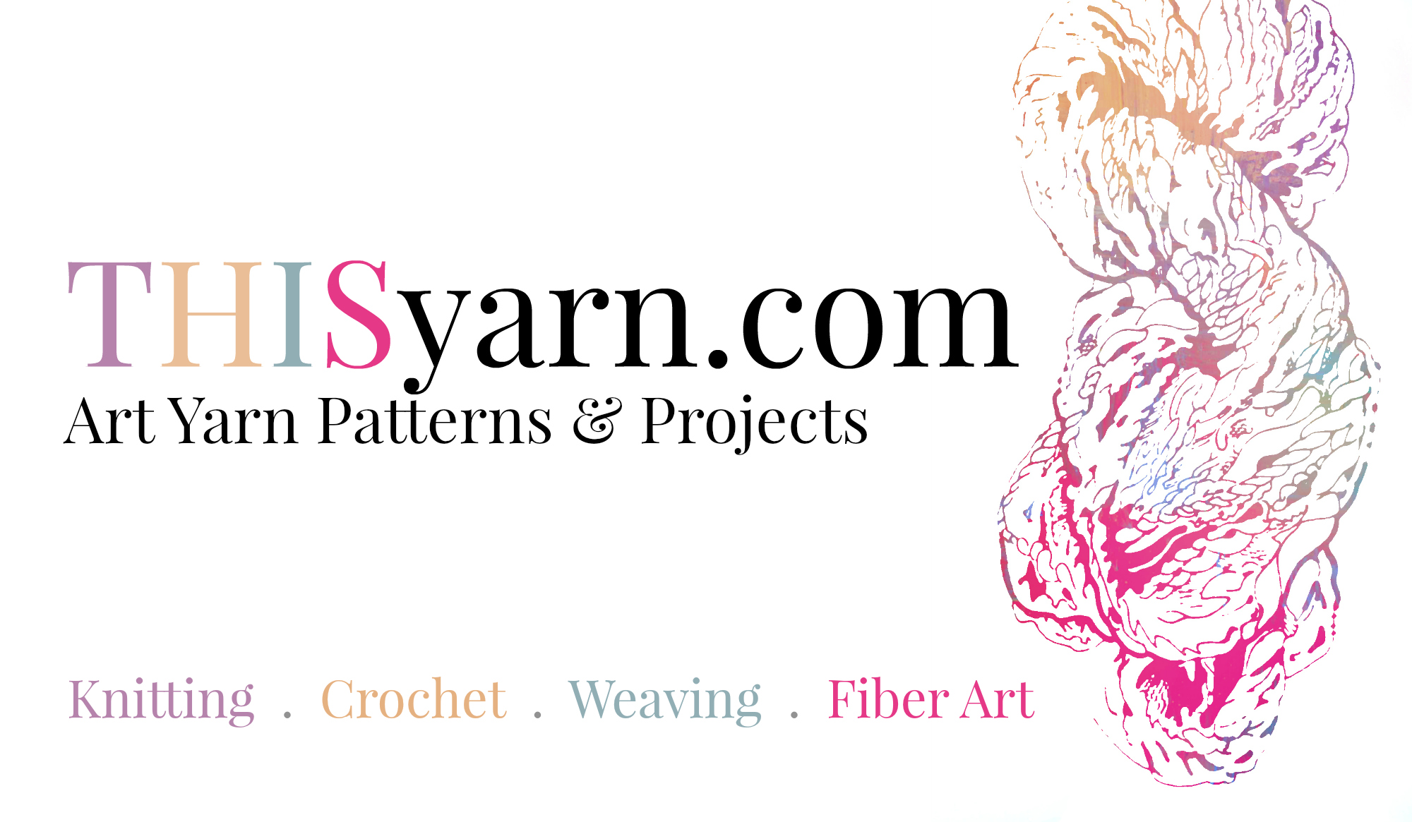 THISyarn standard sized business card (click to download high res)