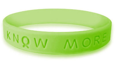 Lime Green Awareness Bracelet