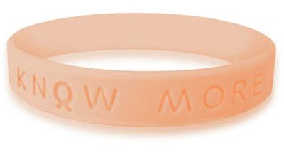 Peach Awareness Bracelet