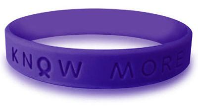 Purple Awareness Bracelet