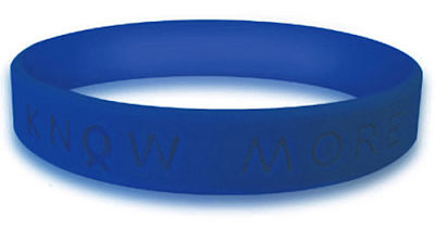Blue Awareness Bracelet