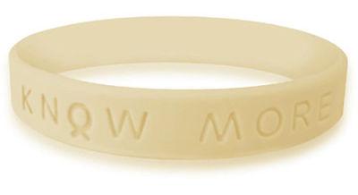 Cream Awareness Bracelet