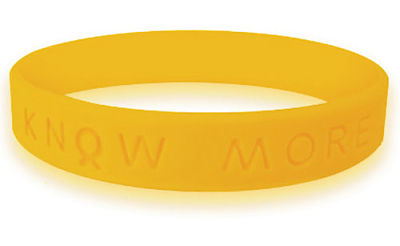 Gold Awareness Bracelet