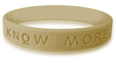 Olive Green Awareness Bracelet