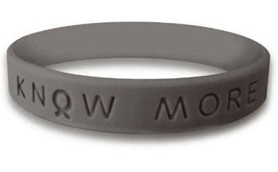 Graphite Awareness Bracelet