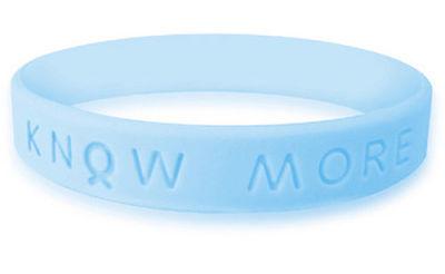 Light Blue Awareness Bracelet