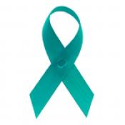 Sea Green Fabric Awareness Ribbons