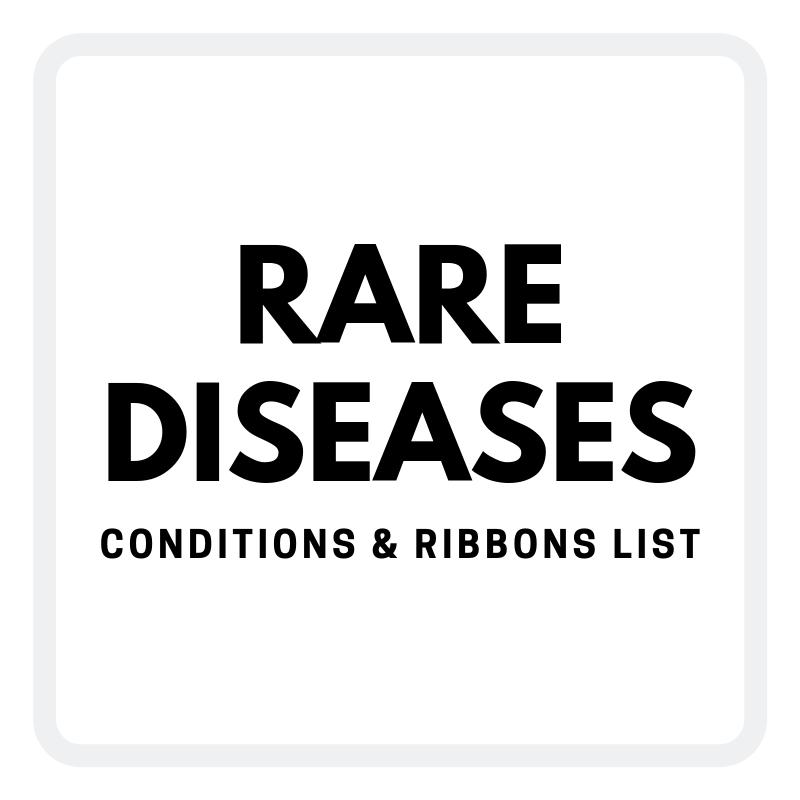 Rare Disease Ribbons